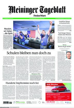 Meininger Tageblatt (20.02.2021)
