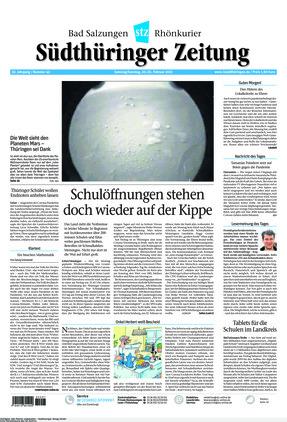 Südthüringer Zeitung (20.02.2021)