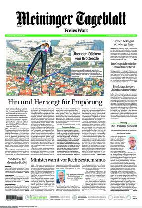 Meininger Tageblatt (22.02.2021)