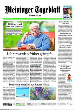 Meininger Tageblatt (23.02.2021)