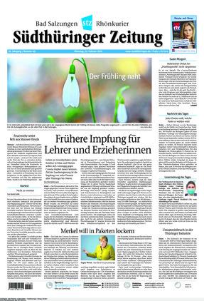 Südthüringer Zeitung (23.02.2021)