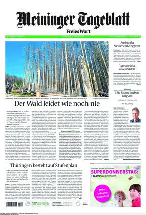 Meininger Tageblatt (25.02.2021)