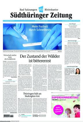 Südthüringer Zeitung (25.02.2021)