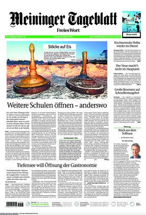 Meininger Tageblatt (26.02.2021)