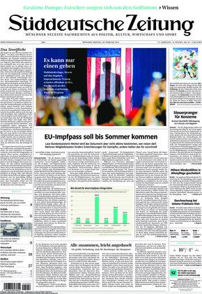 Süddeutsche Zeitung (26.02.2021)