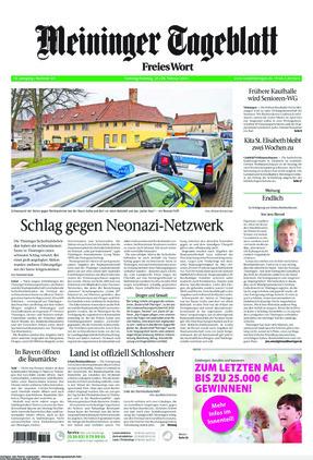 Meininger Tageblatt (27.02.2021)