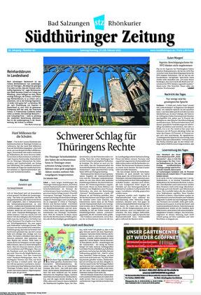 Südthüringer Zeitung (27.02.2021)