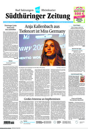 Südthüringer Zeitung (01.03.2021)