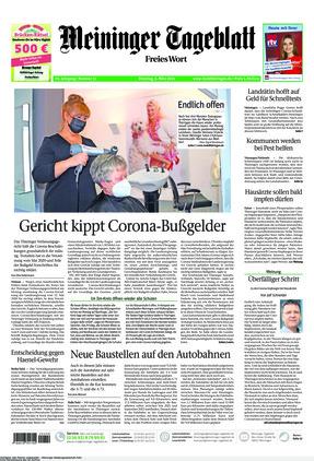 Meininger Tageblatt (02.03.2021)
