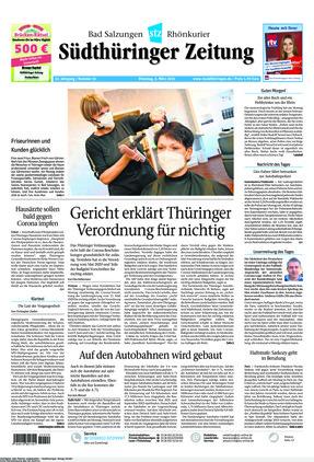 Südthüringer Zeitung (02.03.2021)