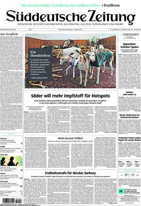 Süddeutsche Zeitung (02.03.2021)