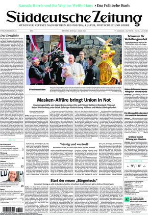 Süddeutsche Zeitung (08.03.2021)