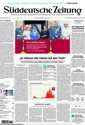 Süddeutsche Zeitung (09.03.2021)