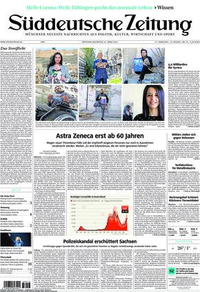 Süddeutsche Zeitung (31.03.2021)