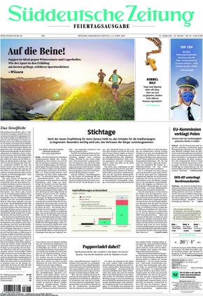 Süddeutsche Zeitung (01.04.2021)