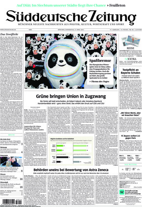 Süddeutsche Zeitung (08.04.2021)