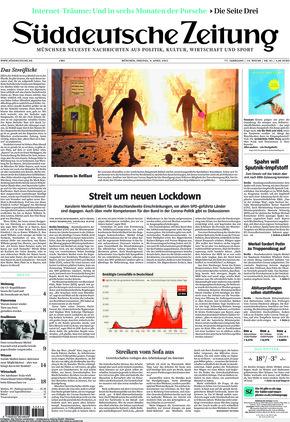 Süddeutsche Zeitung (09.04.2021)