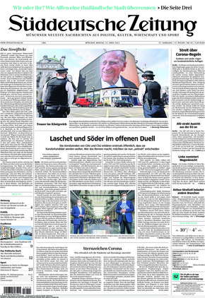 Süddeutsche Zeitung (12.04.2021)
