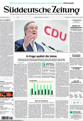 Süddeutsche Zeitung (13.04.2021)