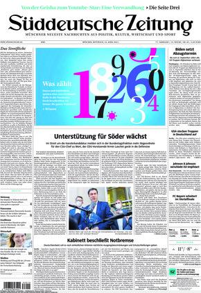 Süddeutsche Zeitung (14.04.2021)