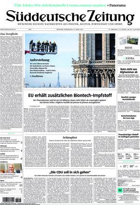 Süddeutsche Zeitung (15.04.2021)