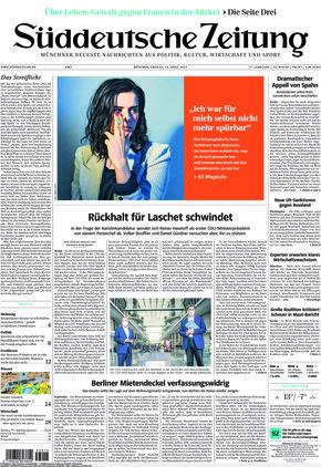 Süddeutsche Zeitung (16.04.2021)