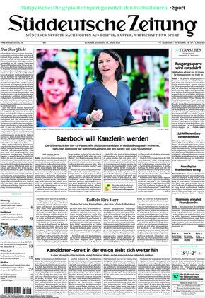 Süddeutsche Zeitung (20.04.2021)