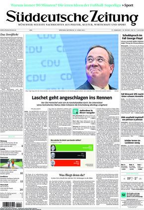Süddeutsche Zeitung (21.04.2021)