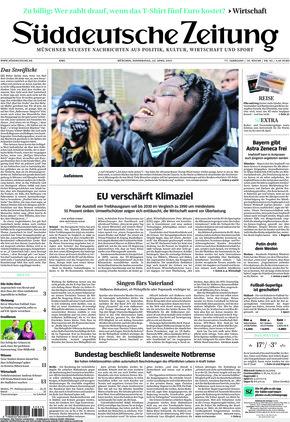 Süddeutsche Zeitung (22.04.2021)