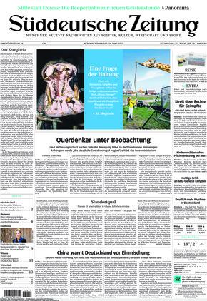 Süddeutsche Zeitung (29.04.2021)