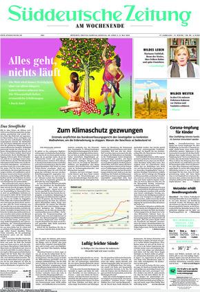 Süddeutsche Zeitung (30.04.2021)