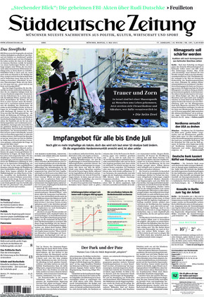 Süddeutsche Zeitung (03.05.2021)