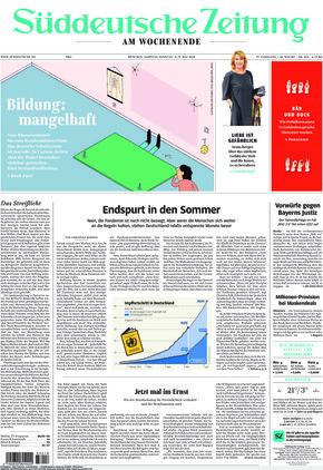 Süddeutsche Zeitung (08.05.2021)