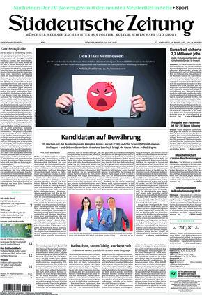 Süddeutsche Zeitung (10.05.2021)