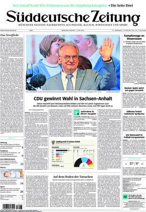 Süddeutsche Zeitung (07.06.2021)