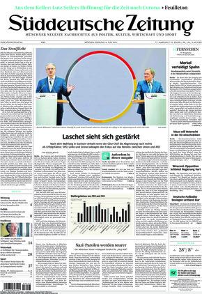 Süddeutsche Zeitung (08.06.2021)