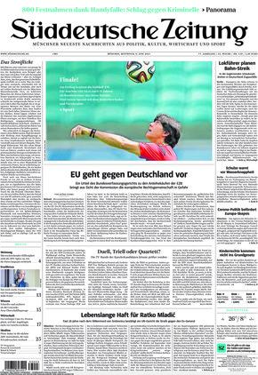 Süddeutsche Zeitung (09.06.2021)