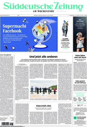 Süddeutsche Zeitung (12.06.2021)