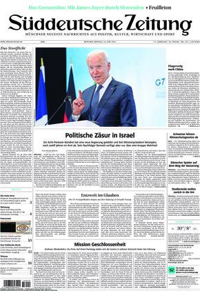 Süddeutsche Zeitung (14.06.2021)