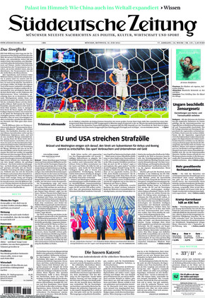 Süddeutsche Zeitung (16.06.2021)