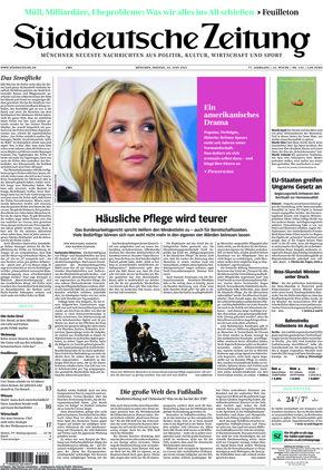 Süddeutsche Zeitung (25.06.2021)