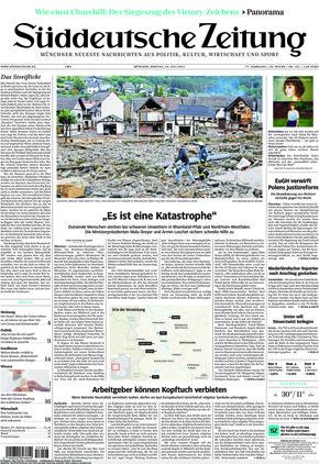 Süddeutsche Zeitung (16.07.2021)