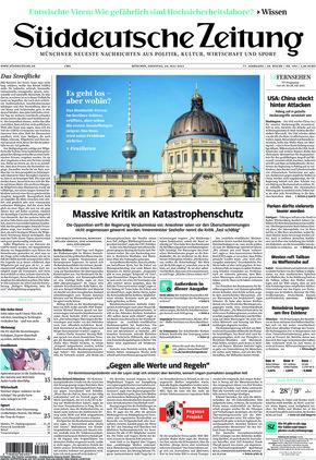 Süddeutsche Zeitung (20.07.2021)