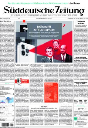 Süddeutsche Zeitung (21.07.2021)