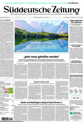 Süddeutsche Zeitung (22.07.2021)