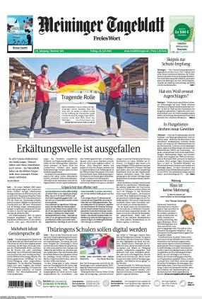 Meininger Tageblatt (23.07.2021)