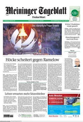 Meininger Tageblatt (24.07.2021)