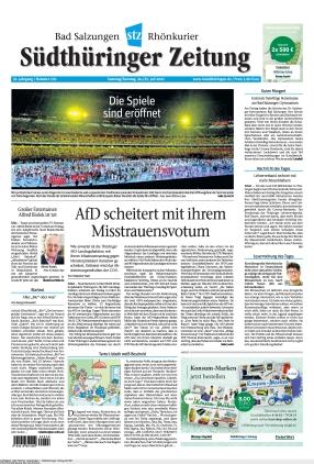 Südthüringer Zeitung (24.07.2021)