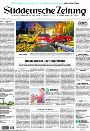 Süddeutsche Zeitung (26.07.2021)