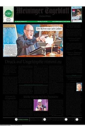 Meininger Tageblatt (27.07.2021)